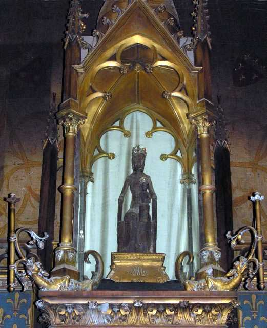 Our Lady Of Rocamadour Black Madonna In France Pilgrim