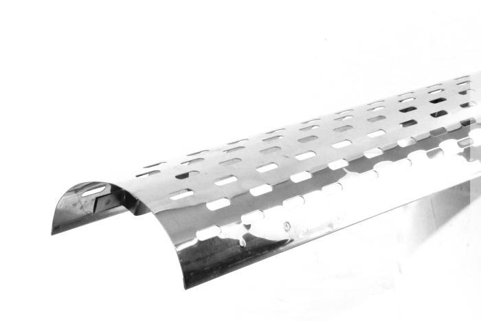 exhaust heat shields for pilgrim cobra