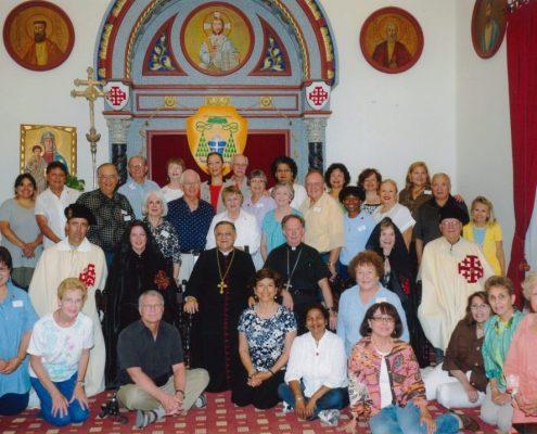 Holy Land and Germany 2010 pilgrim group