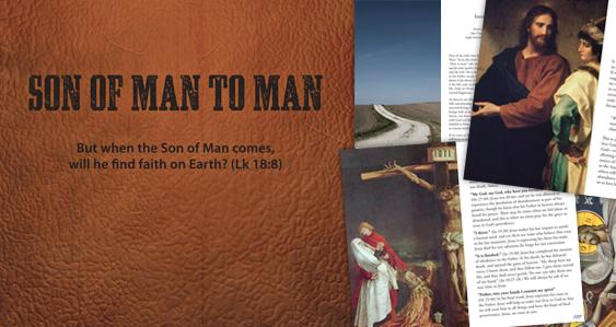 Son of Man to Man spiritual book for men