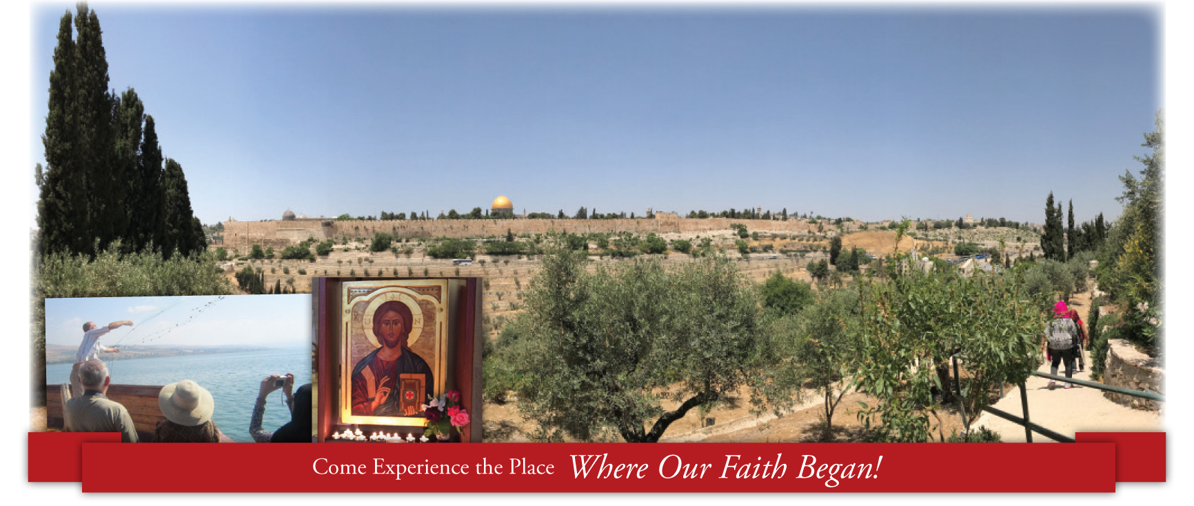Come experience the place where our faith began!