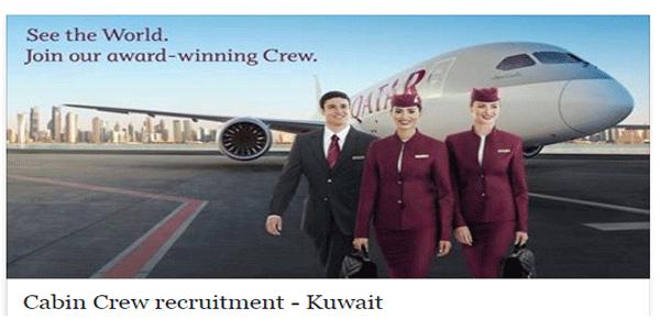 Qatar Airways holding a cabin crew recruitment event in ...