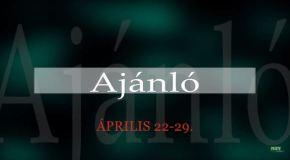 Műsoraink április 22-29.