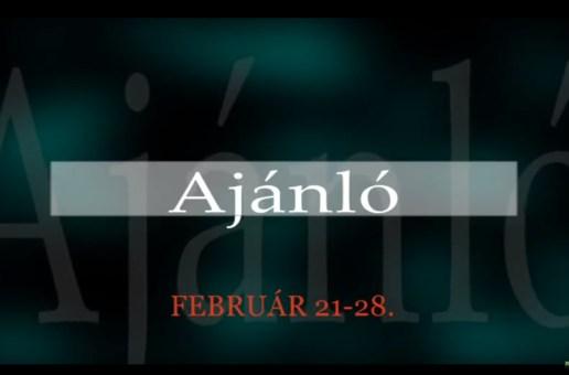 Műsoraink február 21-28.