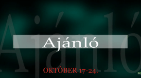 Műsoraink október 17-24.