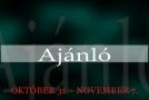 Műsoraink október 31 – november 7.