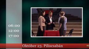 Műsoraink október 25 – november 1.