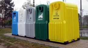 Szelektív hulladék-gyűjtés Piliscsabán