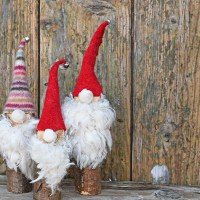 Super Easy to Make Cute Norwegian Christmas Gnomes