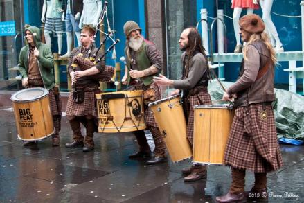 Le groupe Clanadonia - Glasgow