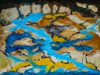 Héloïse - collage sur toile