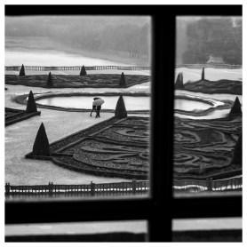 Papier monochrome -Versailles
