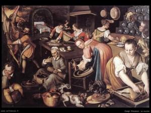 """""""La cucina"""" Vincenzo Campi (1508 hacia)"""