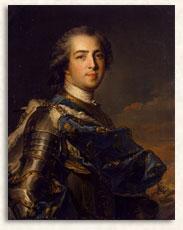 Ritratto di Luigi XV (Jean Marc Nattier)