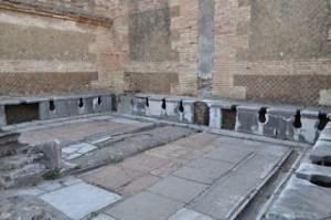 Las letrinas romanas