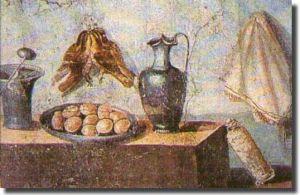 Eine Küche des antiken Rom