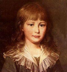 Little Luigi Carlo, son of Marie Antoinette and Louis XVI