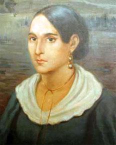 Ritratto di Anita Garibaldi