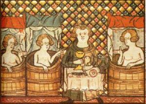 El ritual del baño en la Edad Media