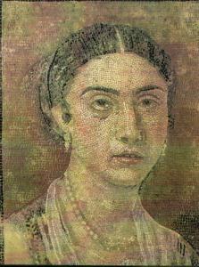 Il make-up di una donna dell'Antica Roma