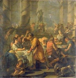 """Un banquete en la Antigua Roma. Il tartufo era un cibo """"da ricchi"""""""