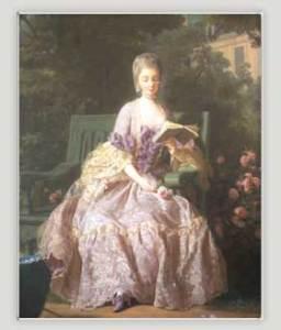 The Princess of Lamballe, born Maria Luisa di Savoia Carignano