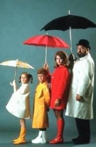 The cast of Family affair