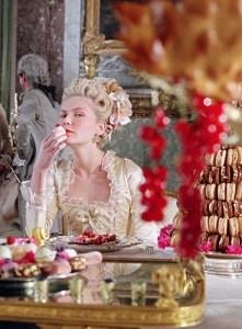 Maria Antonietta in una scena del film Marie Antoinette (2006)