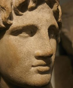 Face of Alexander the Great