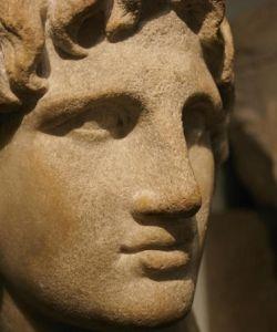 Rosto de Alexandre, o Grande