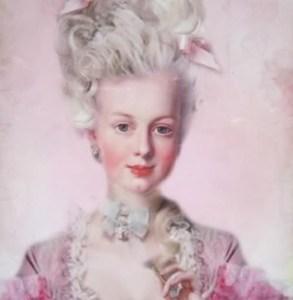 María Antonieta. a veces, Reina de Francia le gusta ser actriz