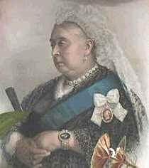 Ritratto della regina Vittoria d'Inghilterra