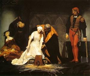Esecuzione di Jane Grey di Paul Delaroche (1833)