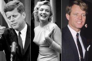 Marlyn Monroe to Fratelli e e Bob John Kennedy