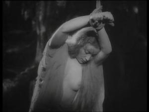 "Vittoria Carpi in Blasetti film & quot; The Iron Crown"" (1941)"
