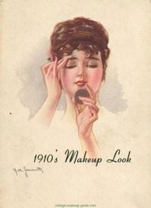 """Un make-up femminile di inizio '900. La maschera """"delle Sultane"""" promette una pelle splendente"""