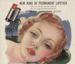 La publicidad de una barra de labios de los labios de inicio 900