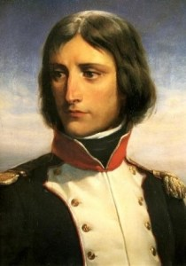 Un giovane Napoleone Bonaparte