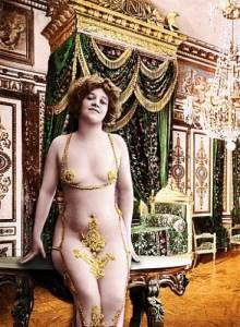 Un esempio di bellezza femminile di inizio '900
