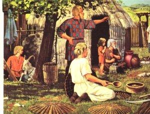 """os celtas. O prato com base em sua cozinha foi o & quot; ragout"""""""