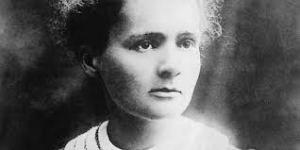 Il volto intenso di Marie Curie