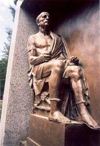 Statua di Ponzio Pilato a San Giovanni Rotondo