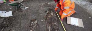 Londres: il ritrovamento della fossa comune nella City