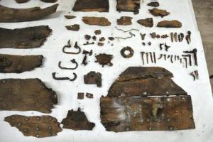 Parte dei resti di Cervantes ritrovati ed identificati a Madrid