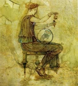 Las mujeres de la antigua Grecia con un incienso. Teofrasto nos da información sobre las fragancias en Grecia
