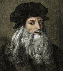 Porträt von Leonardo da Vinci. Der große Künstler war ein überzeugtes Tierrecht