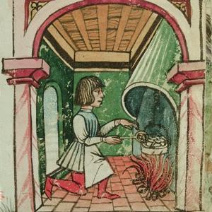 Una cocina medieval