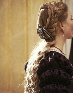 A partir de una serie de televisión: el famoso pelo de Lucrecia Borgia