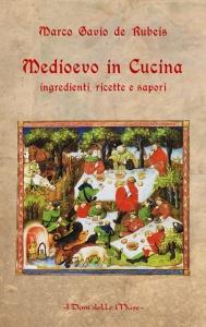 """Copertina del libro """"Medioevo in cucina: ingredientes, recetas y sabores"""""""