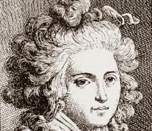 Portrait Lorenza Feliciani, wife of Cagliostro